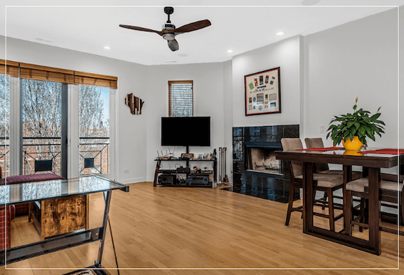chicago condo for sale in wicker park chicago with amazing outdoor space and private rooftop deck