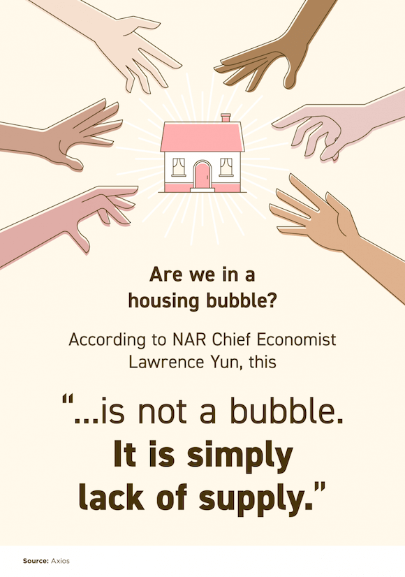 This Isn't a Bubble in 2021. It's Simply Lack of Supply.